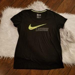Nike Lacrosse dri-fit tee